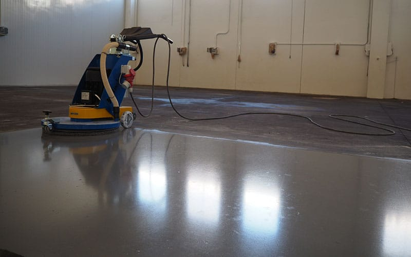 trattamento cemento industriale e silicato di litio