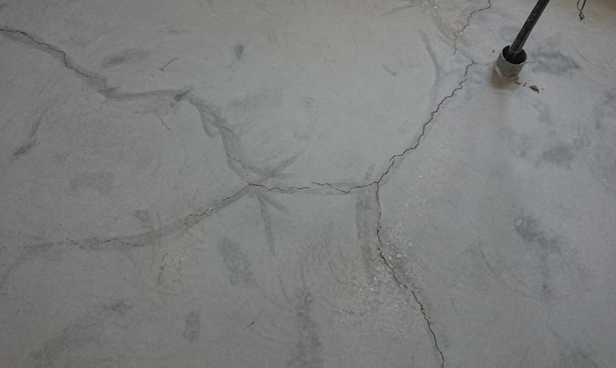 fessurazioni pavimento in cemento industriale calcestruzzo